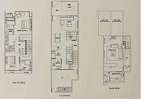 Terra Villas 2nd Storey Floor Plans