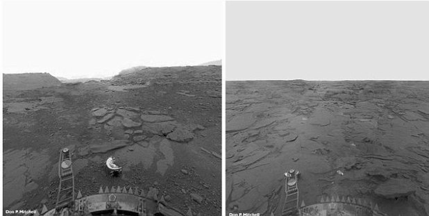 Russia Declassified Secret Images From Venus That Show Extraterrestrial Life
