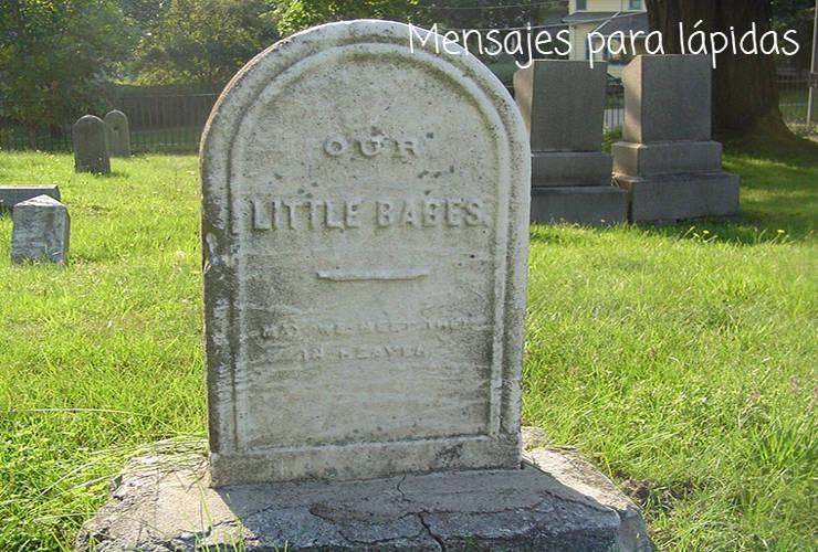 Mensajes para Lápidas