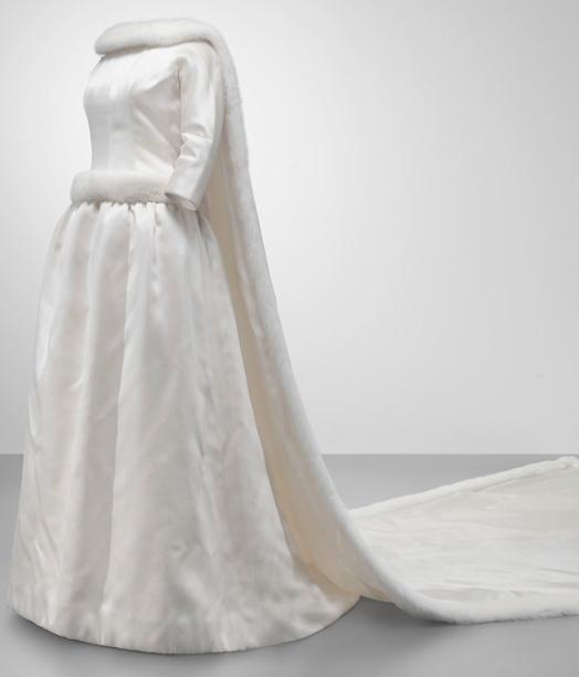 vestido de novia Reina Fabiola de Bélgica Cristóbal Balenciaga