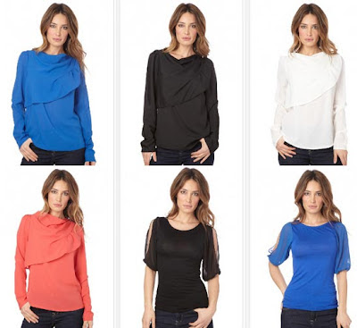 tops colores