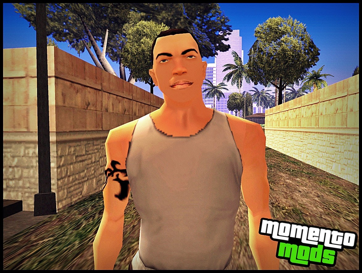 GTA SA - Skin Do CJ Branco
