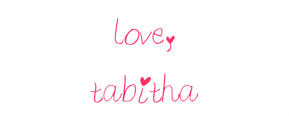 love, tabitha