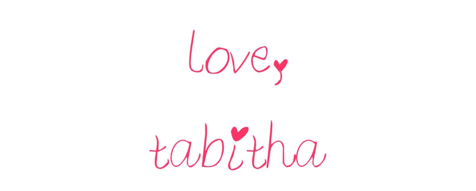 love, tabitha