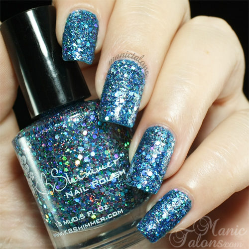 KBshimmer Too Cold To Hold Swatch