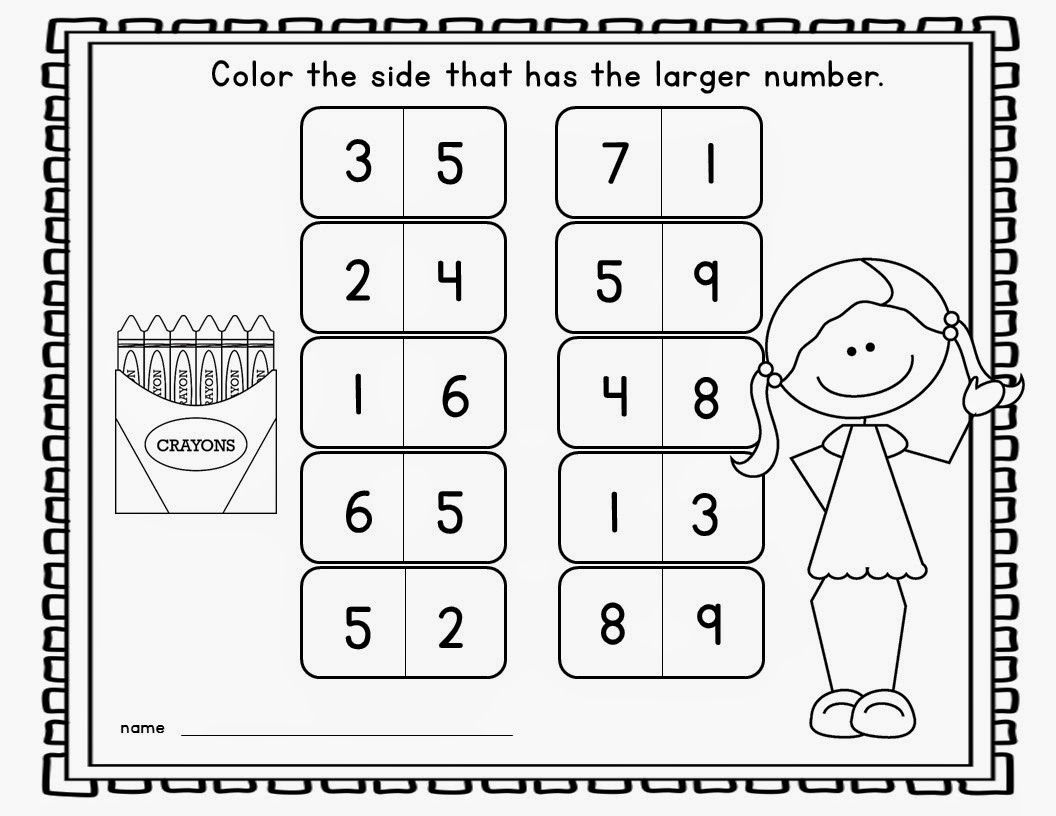 math worksheet : mrs mcginnis  little zizzers new kindergarten teaching materials : Kindergarten Number Sense Worksheets