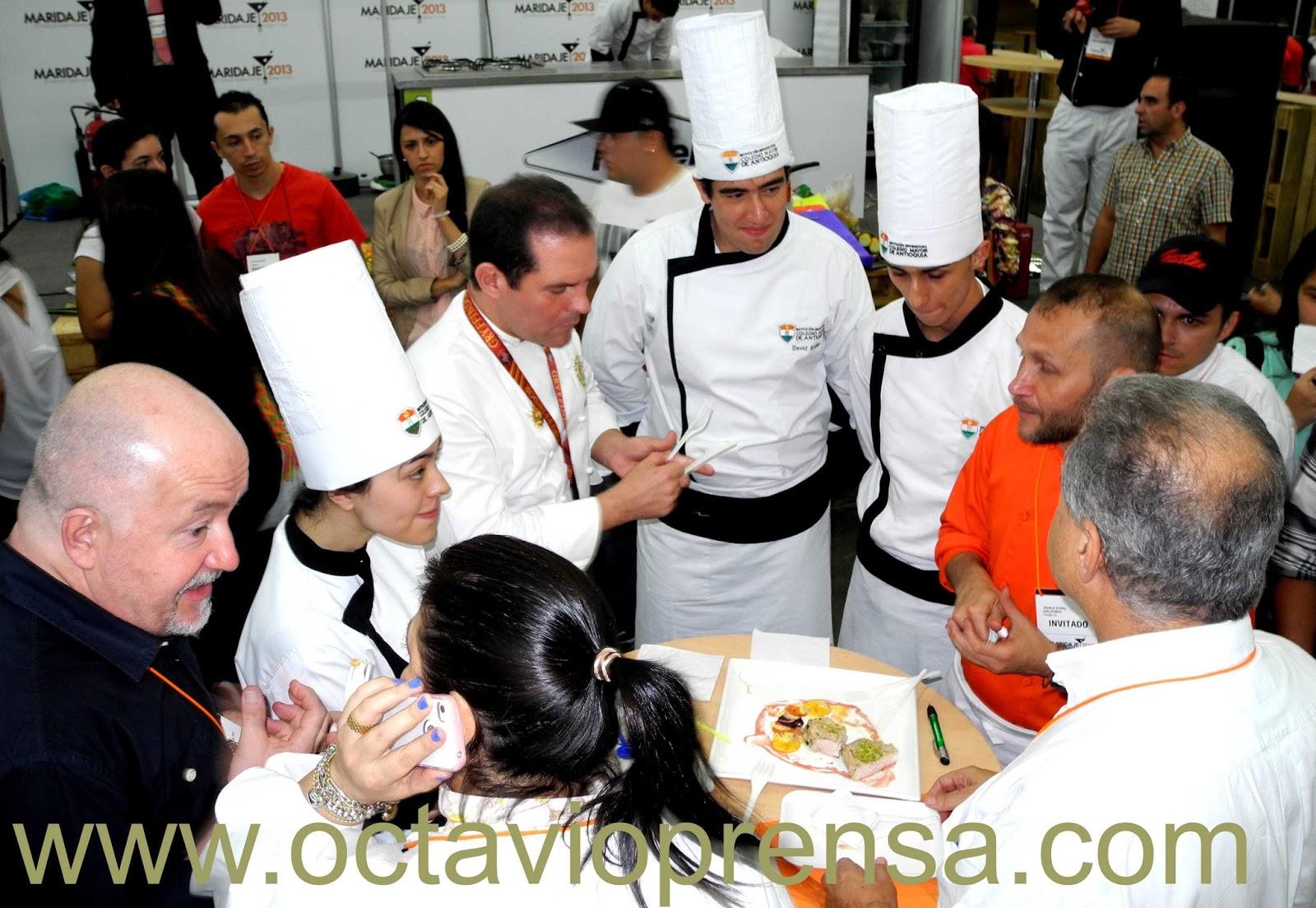 Maridaje 2015 mostrar el mejor sabor de colombia - Clases de cocina medellin ...
