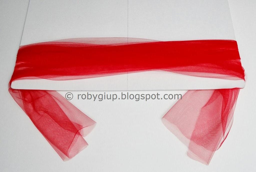 Eccezionale RobyGiup handmade: Fiocchi di tulle - Tulle bows FJ38