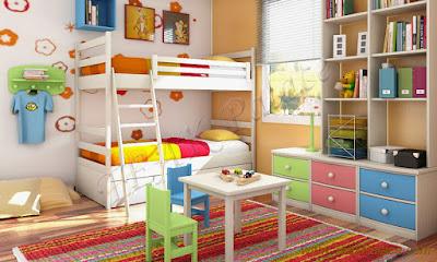 set kamar anak tingkat medan