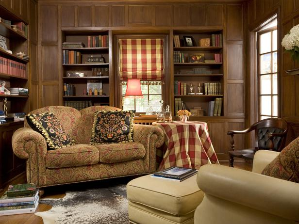 cozy home library this cozy home library is a comfortable spot to read
