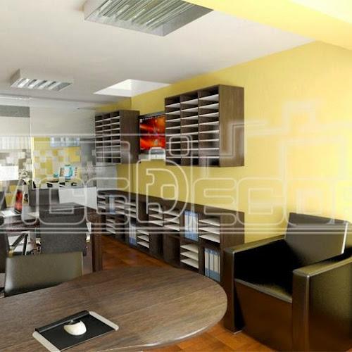 oficinas decoracin de interior muebles de melamina