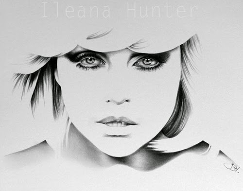 16-Debbie-Harry-Ileana-Hunter-Recognise-Portrait-Drawings-Detail-www-designstack-co