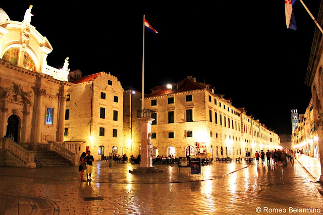 Dubrovnik at Night Croatia