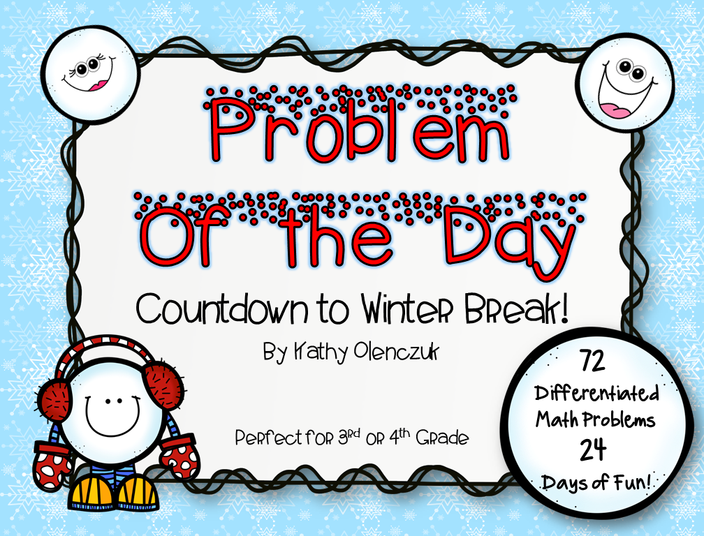 http://www.teacherspayteachers.com/Product/Problem-of-the-Day-Countdown-to-Winter-Break-Advent-Calendar-1579600