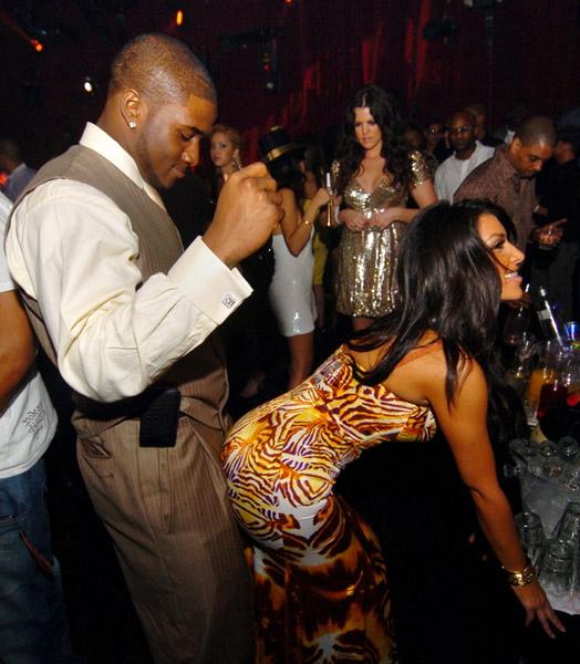 kim kardashian with ray j Photo