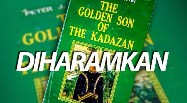 Kerajaan haram penerbitan buku 'The Golden Son of The Kadazan'