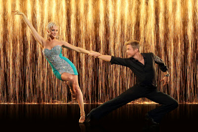 Kellie Pickler and Derek Hough on Dancing with the Stars season 16