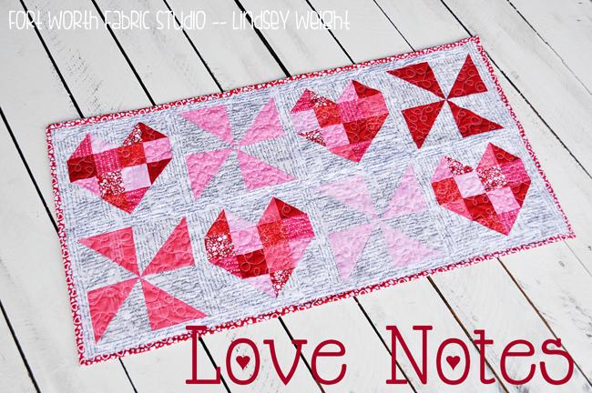 Love Notes Table Runner