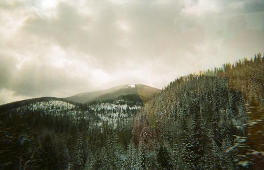 Idaho Montana border
