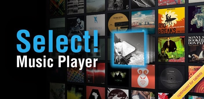 Select! Music Player Pro v1.2.5 Apk Full