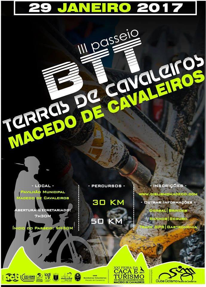 29JAN * MACEDO DE CAVALEIROS