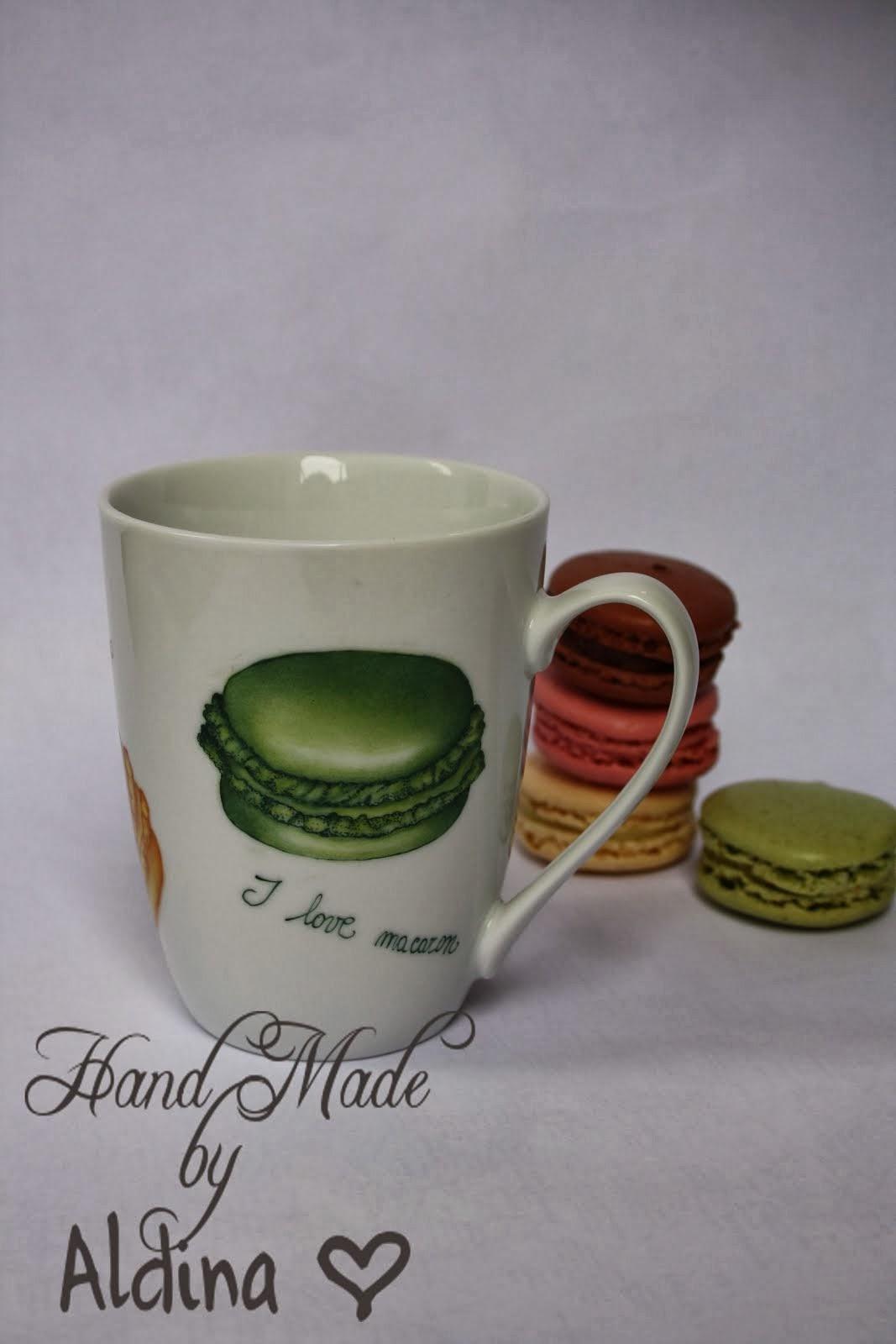 Macaron's cup