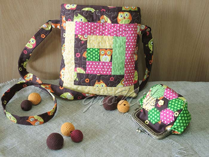 комплект для девочки- сумка с кошельком