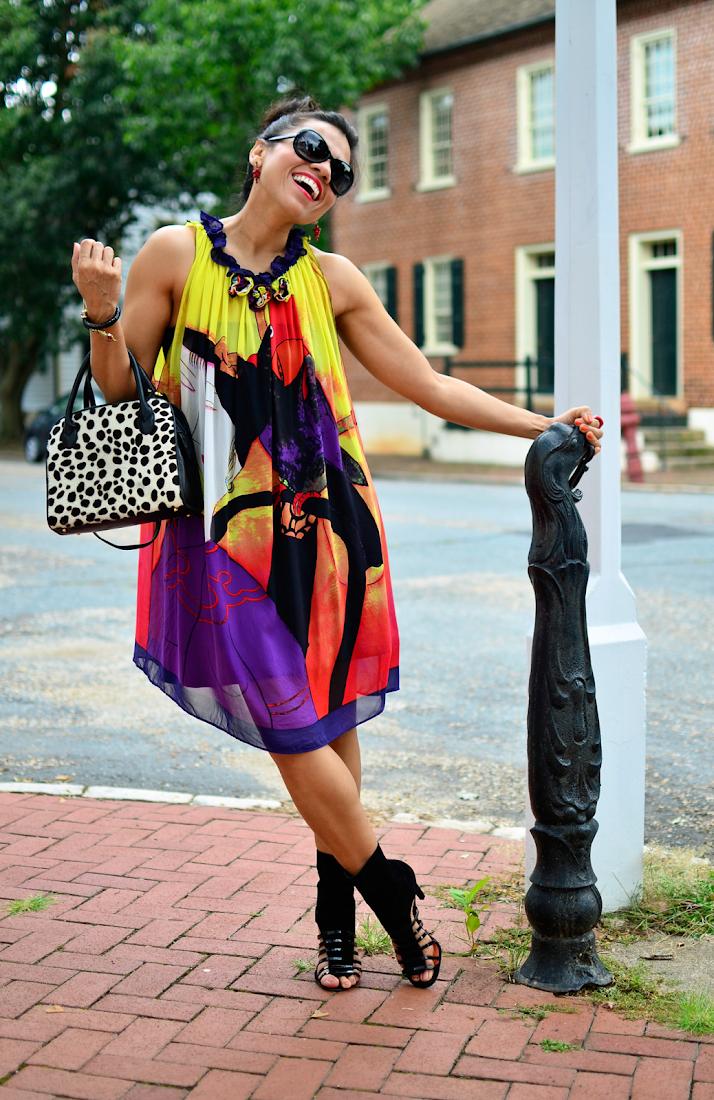 CHLOE DRESS STREET STYLE