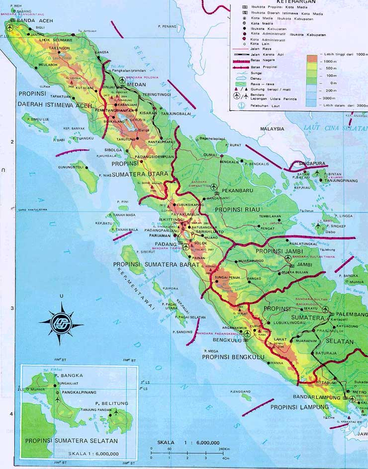 Quake hit Northen Sumatera or Sumatra
