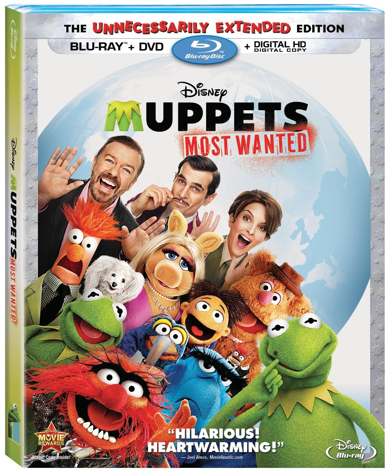 Disney's MUPPETS MOST WANTED on Blu-ray, DVD and Disney Movies Anywhere