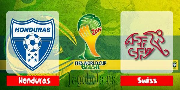 Prediksi Skor Honduras vs Swiss 26 Juni 2014 Worldcup