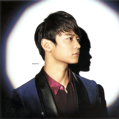 Minho Shinee Dazzling Girl album image scan