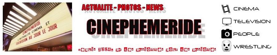 Cinephemeride: L'actualité du cinéma et de la télévision au quotidien