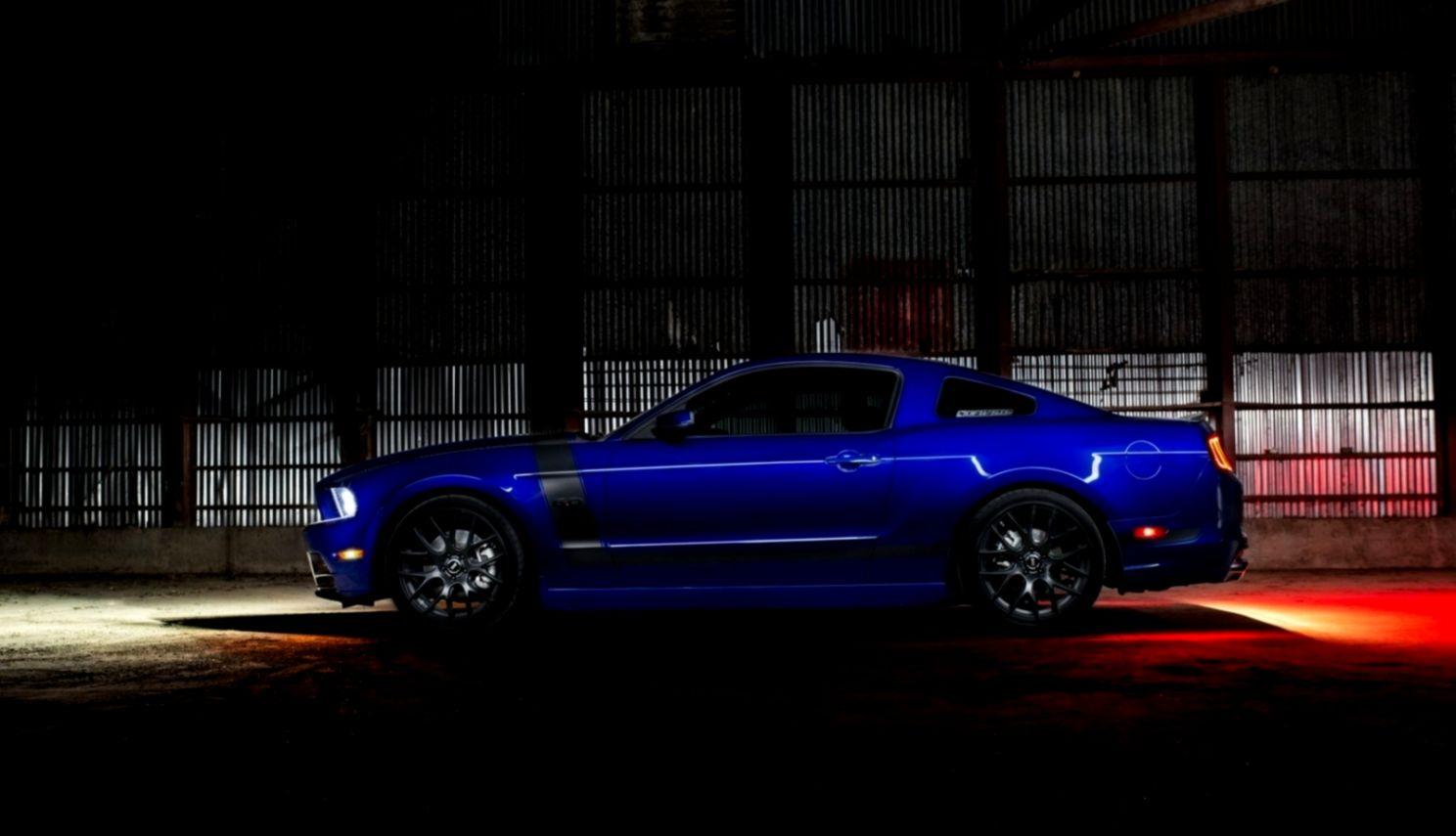 Ford Mustang Warehouse Car Hd Wallpaper  Wallpaper List