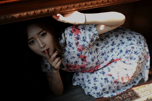 4 Minah - two sets in studio - very cute asian girl-girlcute4u.blogspot.com