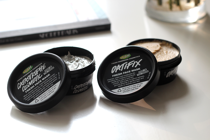 Lush Oatifix Face Mask, Catastrophe Cosmetic Face Mask