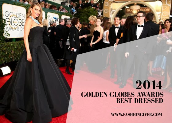 Golden Globe Awards 2014 Red Carpet