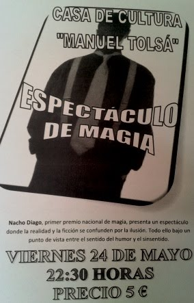 ESPECTCULO DE MAGA.