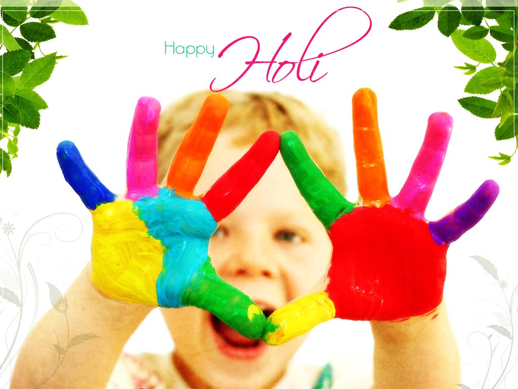 The Fresh Wallpaper Happy Holi