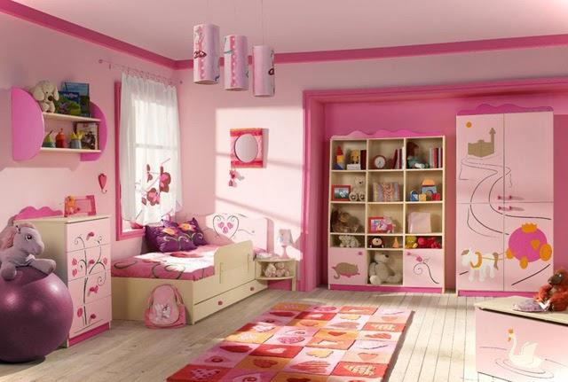 21 Preciosas Habitaciones para Nias de color Rosa