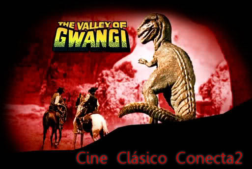 El valle de Gwangi | 1969 | The Valley of Gwangi, carátula, cartel, cine clasico