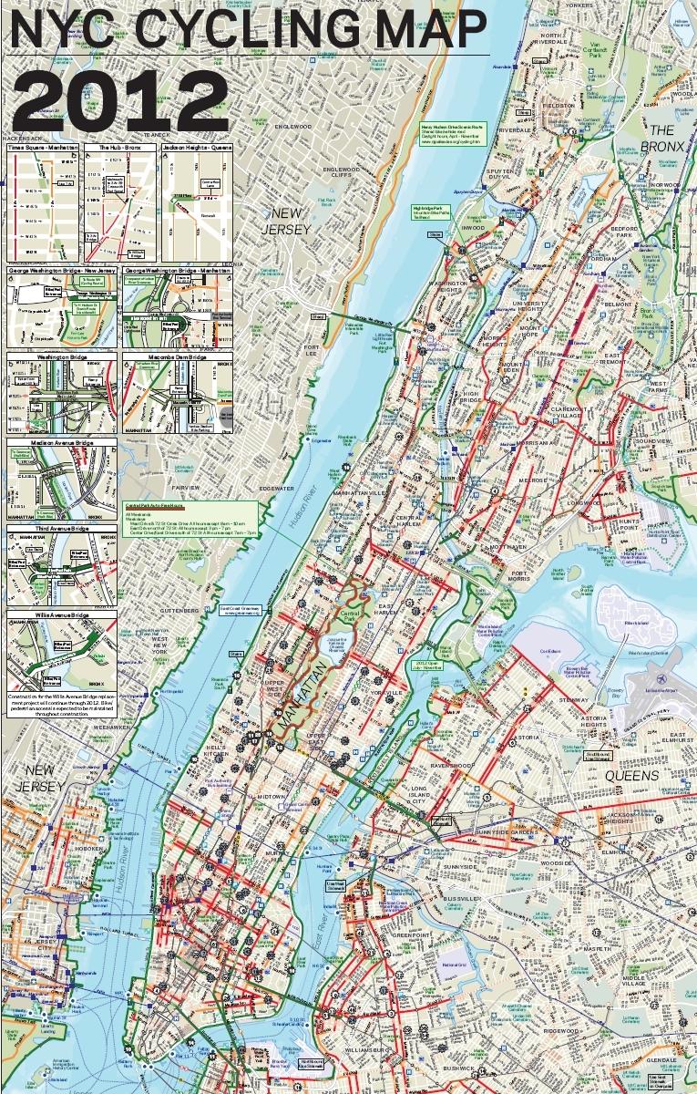 Citibike NYC Bikeshare SkyscraperCity - Nyc map bike lanes