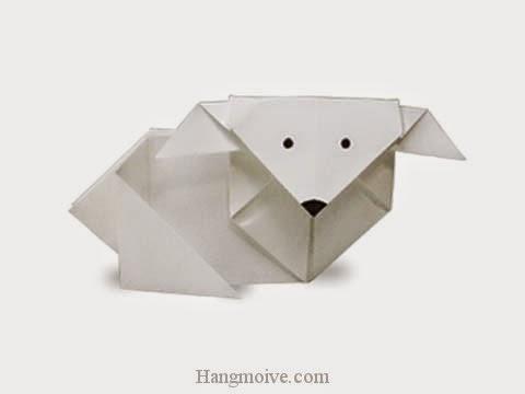 Cách gấp, xếp con Dê bằng giấy origami - Video hướng dẫn xếp hình - How to make a Goat