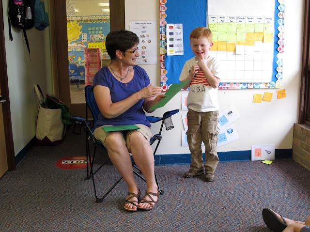 Porter Graduates from Preschool