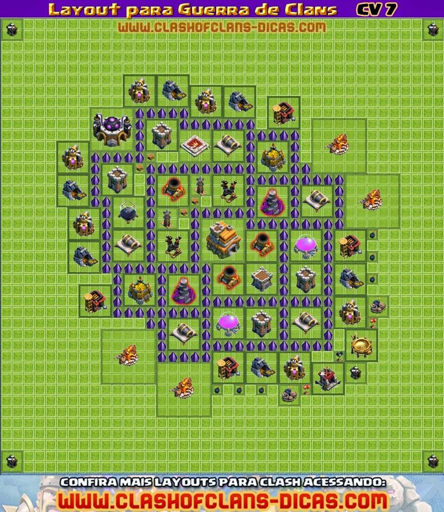 fyrerafa clash of clans layout cv 7