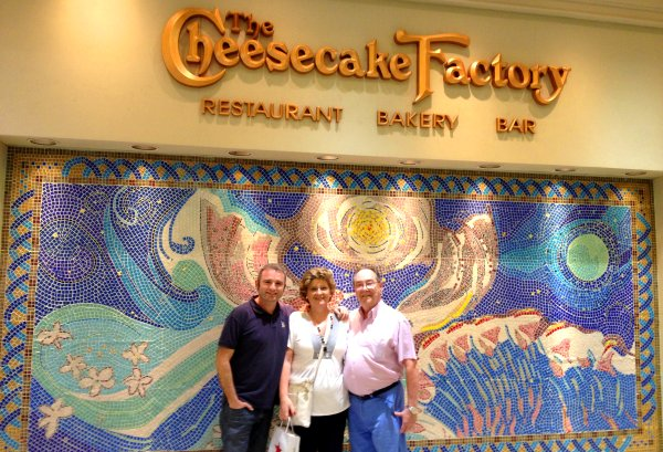 Restaurante The Cheesecake Factory
