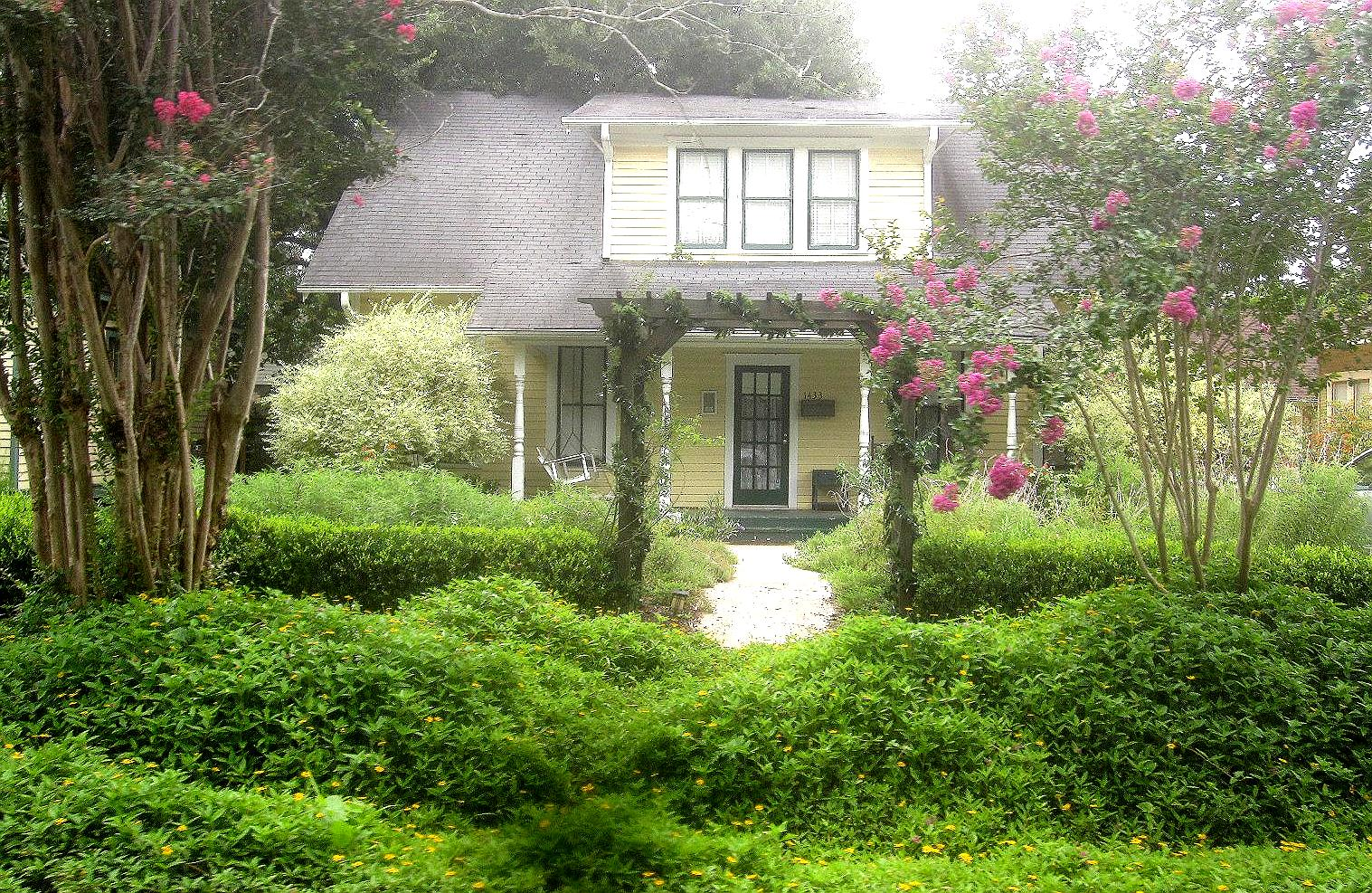 the other houston houston bungalow cottage gardens - Front Yard Cottage Garden Ideas