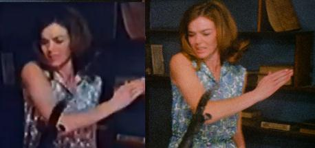 Notice a difference two views of diane mahree in manos the hands of