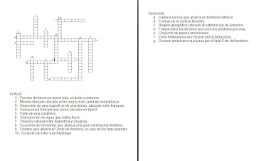 Puzzle Latinoamerica