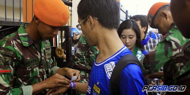 Persib Bandung Terapkan Tiket Gelang di Putaran Kedua ISL